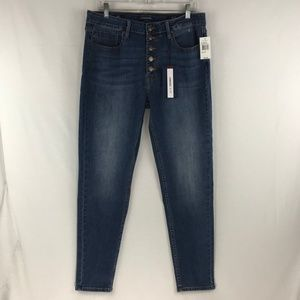Vigoss Button Fly Skinny Jeans